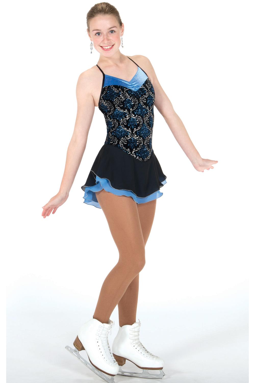 K-Skate   Sportbutiken Linnea - Svart-blå klänning med spännande rygg 6ebdf60a0d128