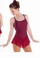 Ärmlös klänning i vinrött, rosa, svart eller kornblått med Swarovski