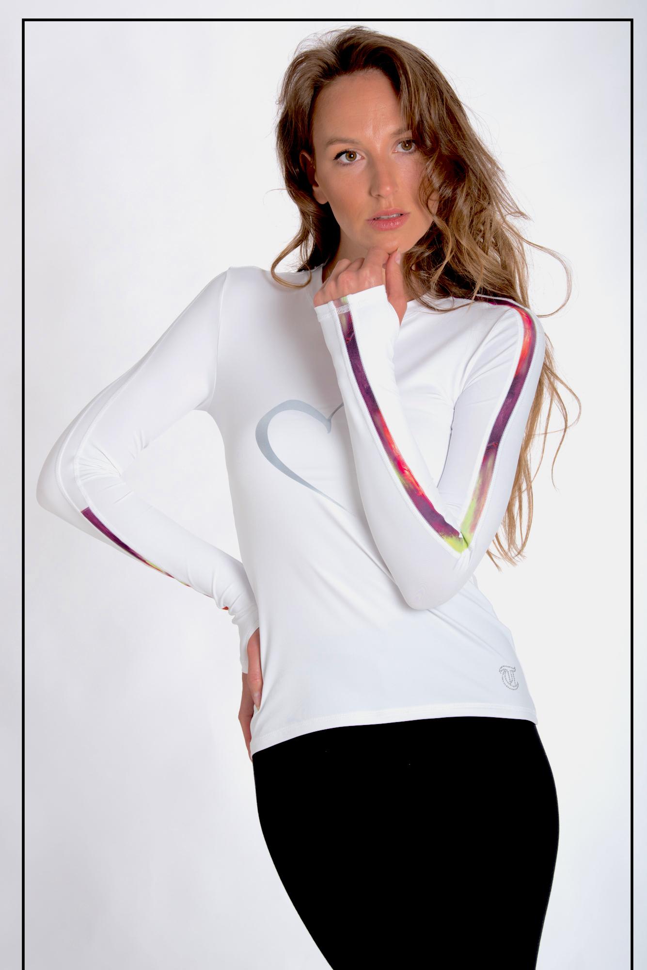 11774099c7a9 K-Skate / Sportbutiken Linnea - Vit långärmad tröja från Thuono