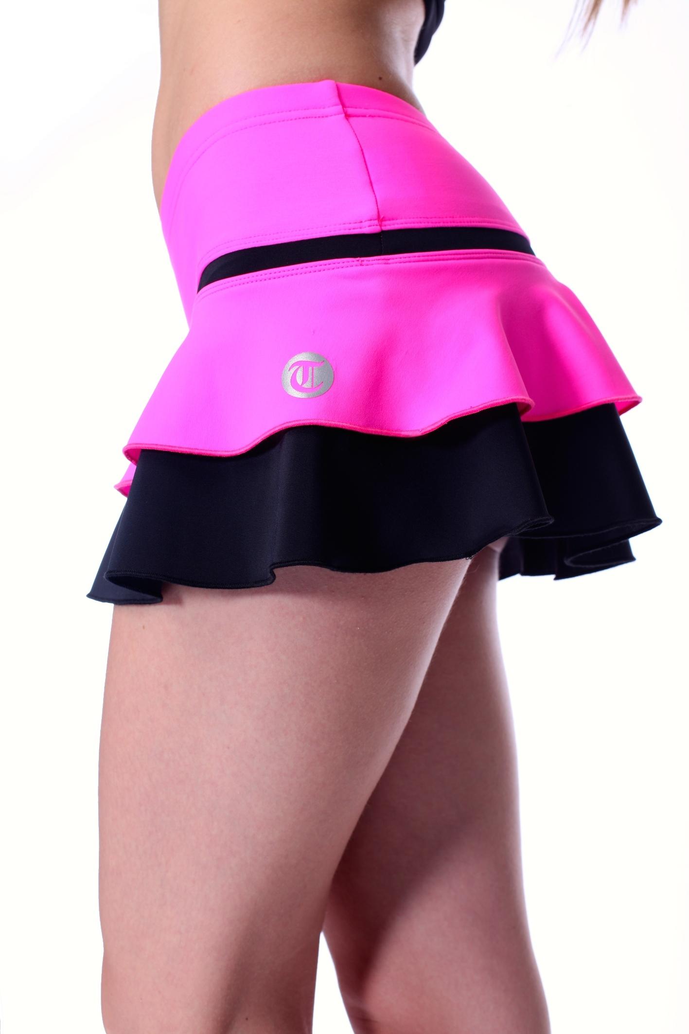 7cfcb06fe456 Neonfärgad kjol i rosa, gult eller orange från Thuono