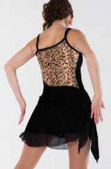 Ärmlös svart klänning