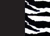Svarta hotpants med eller utan dekorkant på benet