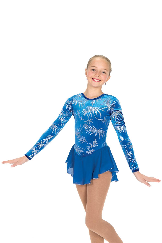 K-Skate   Sportbutiken Linnea - Blå klänning med tryck i silverglitter f9ce1c1817c0b