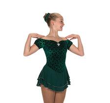 Mörkgrön klänning från Jerry