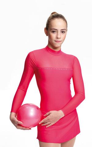 Klänning för is och gymnastik