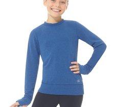 Varm och skön träningströja i blått