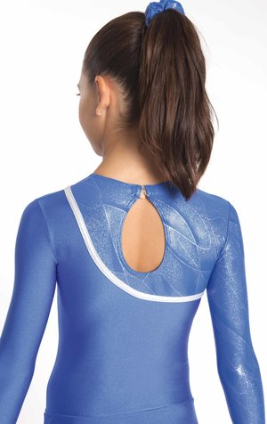 Gymnastikklänning i blått