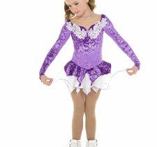 Lila prinsessklänning från elitexpression