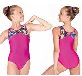 Gymnastikdräkt i 3 olika färgkombinationer