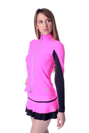 Rosa neonfärgad jacka från Thuono