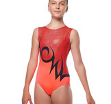Orange gymnastikdräkt  från RG Leotard
