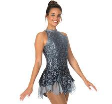 Grå/silvrig klänning