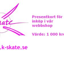 Presentkort 1 000:-
