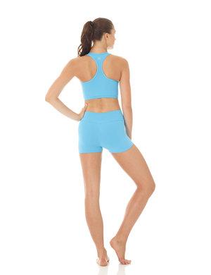 Ljusblå sport-BH i funktionsmaterial