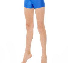 Enfärgade hipsters/hotpants i blått