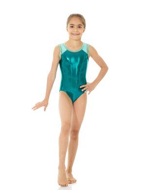 Turkos/grön gymnastikdräkt från Mondor