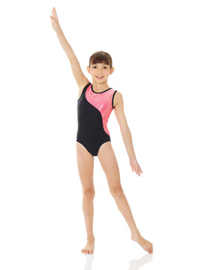 Svart/rosa gymnastikdräkt från Mondor