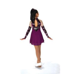 Vinröd klänning från Jerry's