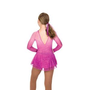 Rosaglittrig klänning