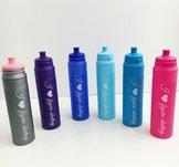 Vattenflaska i plast för konståkare