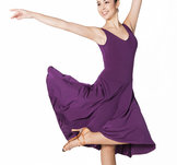 Längre klänning för synkro och isdans