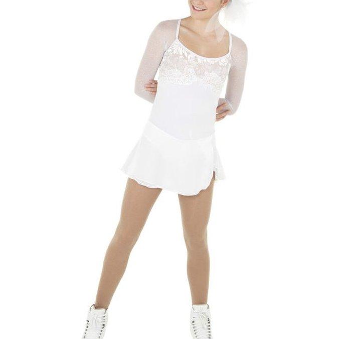 vit långärmad klänning från elitexpression