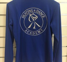 Blå klubbjacka Skate academy
