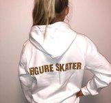 "Texten ""Figure Skater"" i glittertryck"