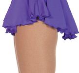 Lycra kjol i lila