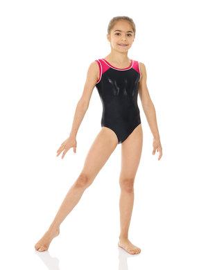Svartglittrig gymnastikdräkt från Mondor