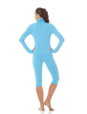 Blå jacka i funtionsmaterial
