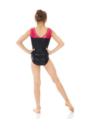 Bronsglittrig gymnastikdräkt från Mondor