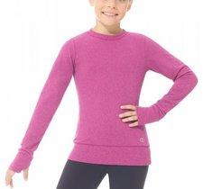 Varm och skön träningströja i rosa