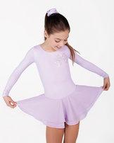 Mjuk och skön klänning i turkos, rosa eller lavendel
